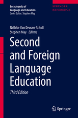 Cover of Second and foreign language education