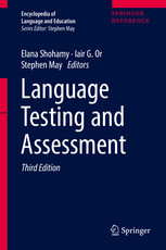 Cover of book Language Testing and Assessment