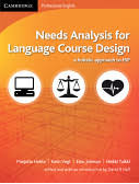 Cover of Needs analysis for language course design