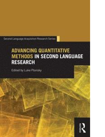 Cover of the book Advancing quantitative methods in second language research