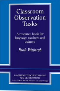 Classroom Observation Tasks book cover