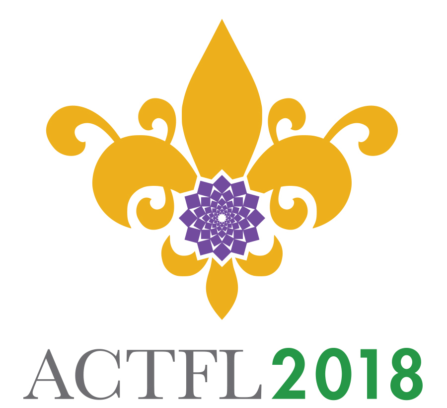 Logo for the ACTFL annual convention 2018