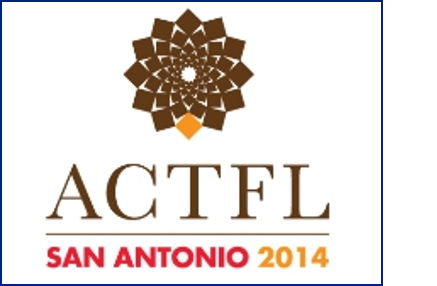 Logo for ACTFL San Antonio 2014