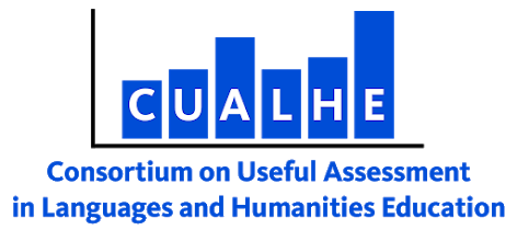 Logo for the Consortium on Useful Assessment in Languages and Humanities Education