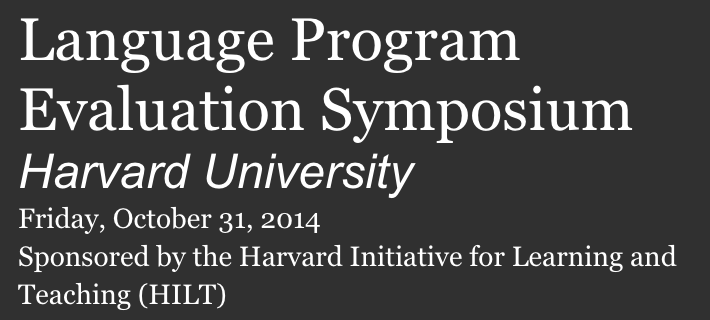Language Program Evaluation Symposium Logo