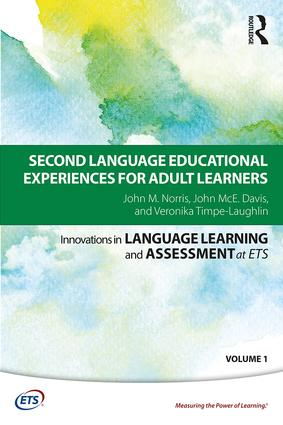 Cover of Second language educational experiences for adult learners