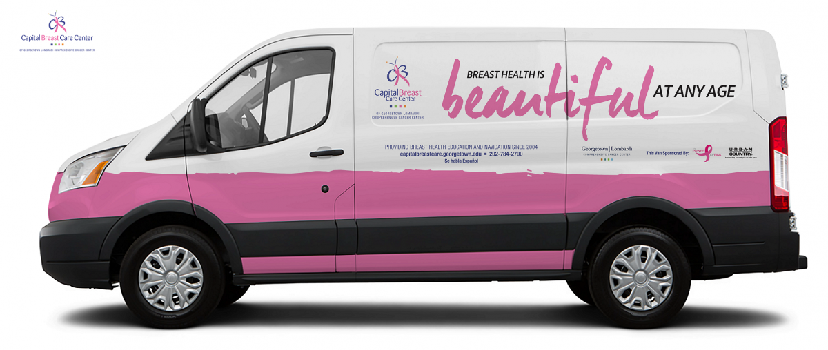 Capital Breast Care Center van