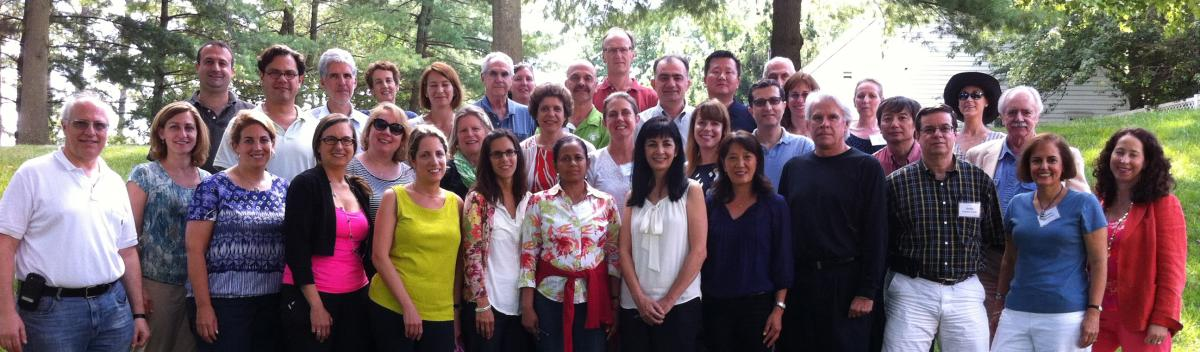 Group photo of CENTILE Retreat, July 2013 attendees.