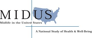 The MIDUS logo. Midlife in the United States. A National Study of Health and Well-Being