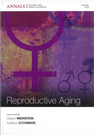 "Book cover image of ""Reproductive Aging""."